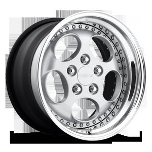 Rotiform STR 5 Silver with Polished Lip