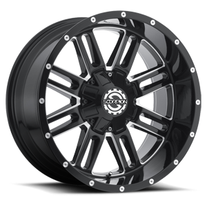 Scorpion SC-18 5 Black Milled