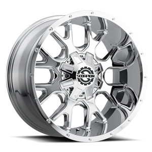 SC-19 Chrome 8 lug