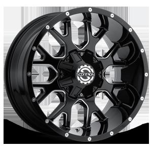 Scorpion SC-19 8 Black Milled