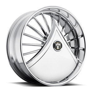 S601-Shokka Chrome with Custom Finish Available 5 lug