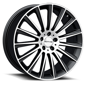 Sothis SC105 5 Gloss Black Machined Face