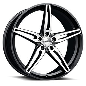 Sothis SC108 5 Gloss Black Machined