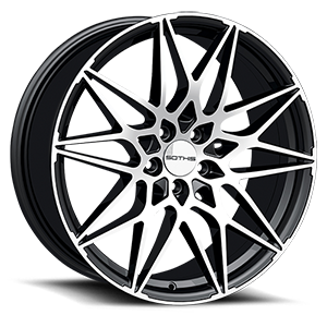 Sothis SC109 5 Gloss Black Machined Face