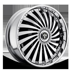 DUB Spinners Swyrl - S768 8 Chrome