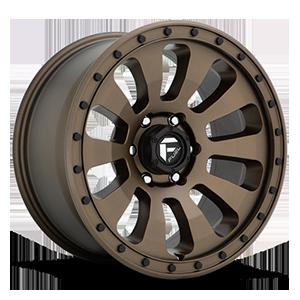 Fuel 1-Piece Wheels Tactic - D678 6 Bronze w/ Black Bolts