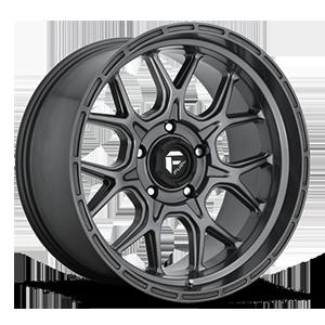 Fuel 1-Piece Wheels Tech - D672 5 Anthracite
