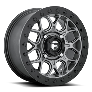 Fuel UTV Wheels Tech - D919 Beadlock 4 Anthracite
