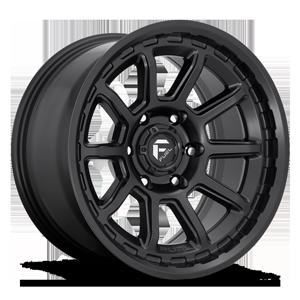 Fuel 1-Piece Wheels Torque - D689 6 Matte Black