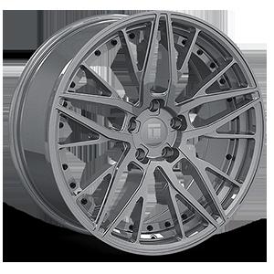 Touren Wheels TR93 5 Gloss Graphite w/ Black Rivets