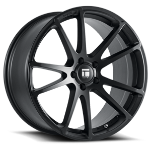TF03 Matte Black 5 lug