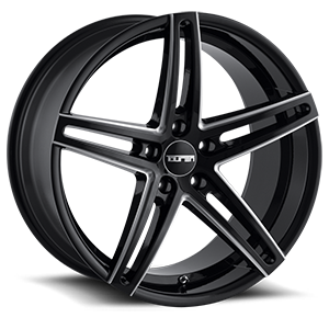 Touren Wheels TR73 5 Black with Milled Spokes