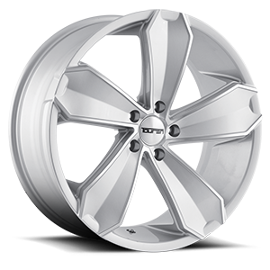 Touren Wheels TR71 5 Silver Machined