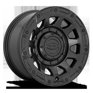Tracker - D729 Matte Black 6 lug