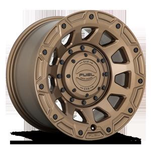 Fuel 1-Piece Wheels TRACKER - D731 6 Matte Bronze