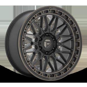 Fuel 1-Piece Wheels TRIGGER - D759 6 Matte Black w/ Dark Tint