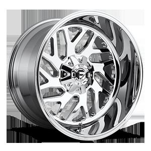 Fuel 1-Piece Wheels D609 TRITON 5 Chrome