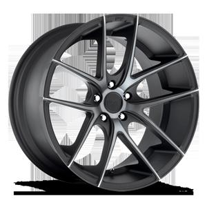 Niche Sport Series Targa - M130 5 Black & Machined with Dark Tint