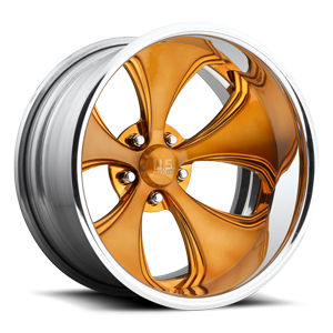 US Mags Templar Concave - US818 5 Brushed Copper   Polished Lip