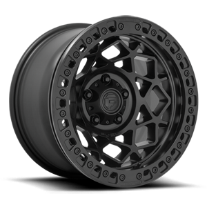 Fuel 1-Piece Wheels Unit - D120 5 Black