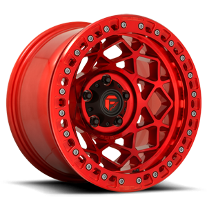 Fuel 1-Piece Wheels Unit - D121 5 Candy Red