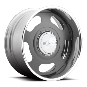 Big Slot - US583 Matte Grey w/ Ford Cap 5 lug