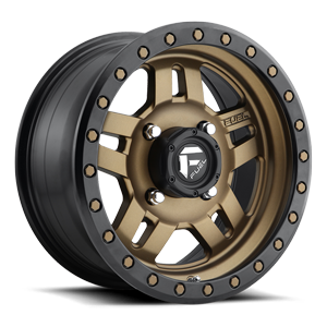 D583 ANZA - UTV Bronze w/ Black Ring 4 lug