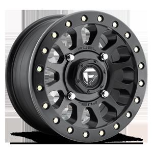 Fuel UTV Wheels Vector - D920 - Beadlock 4 Matte Black