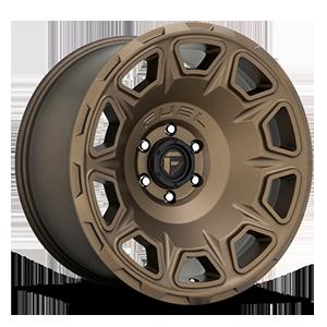 Fuel 1-Piece Wheels Vengeance - D687 5 Bronze