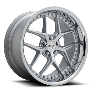 Niche Sport Series Vice - M225 5 Silver w/ Chrome Lip