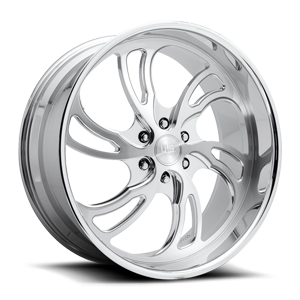 US Mags Villain 6 - Precision Series 6 Brushed w/ Polished Lip