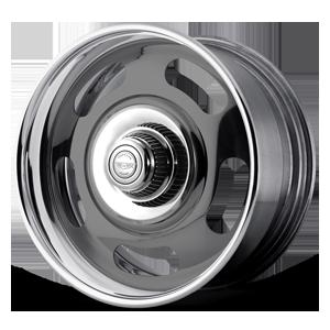 American Racing Custom Wheels VN327 Rally 5 Two-Piece Gray Center w/ Polished Barrel