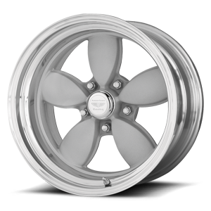 VN402 Classic 200S Two-Piece Mag Gray Center Polished Barrel 5 lug