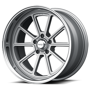 American Racing Custom Wheels VN510 5 Gunmetal with Chrome Lip
