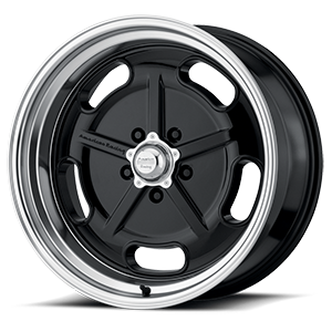 American Racing Custom Wheels VN511 SALT FLAT 5 Gloss Black with Diamond Cut Lip