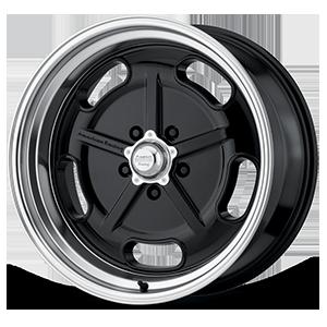 American Racing Custom Wheels VN511 5 Gloss Black with Chrome Lip