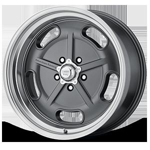 American Racing Custom Wheels VN511 SALT FLAT 5 MagGray w/ Machined Lip