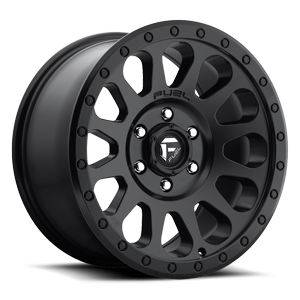 Vector - D579 Matte Black 6 lug