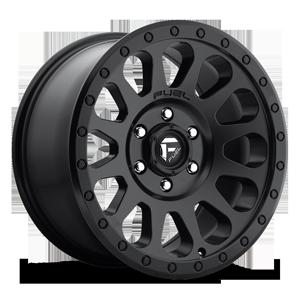 Fuel 1-Piece Wheels Vector - D579 6 Matte Black