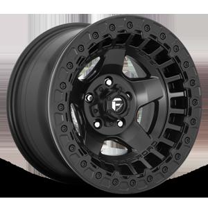 Fuel 1-Piece Wheels Warp Beadlock - D118 5 Matte Black