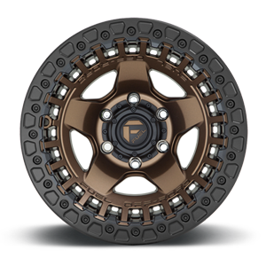 D119 WARP - Bead Lock Matte Bronze w/ Black Ring 6 lug