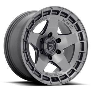 Fuel 1-Piece Wheels Warp - D734 6 Matte Gunmetal