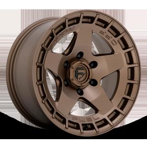 Fuel 1-Piece Wheels Warp - D735 6 Matte Bronze