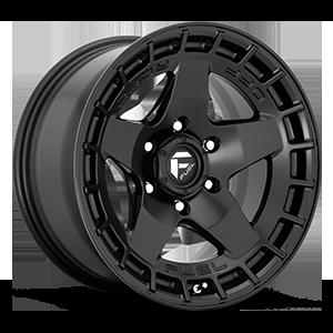 Fuel 1-Piece Wheels Warp - D733 6 Satin Black