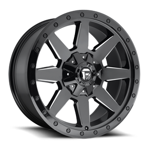Fuel 1-Piece Wheels Wildcat - D597 5 Gloss Black & Milled