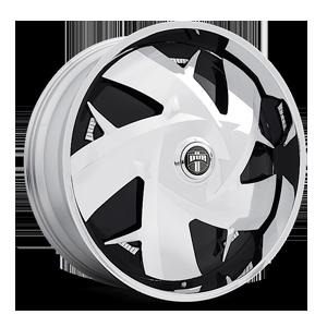 DUB Spinners WU - S747 5 Chrome