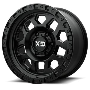 XD Wheels XD132 RG2 6 Satin Black