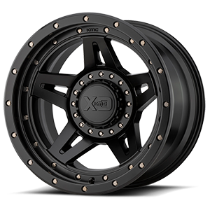 XD Wheels XD138 Brute 5 Satin Black