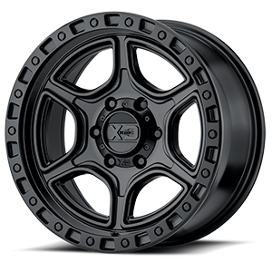 XD Wheels XD139 Portal 6 Satin Black
