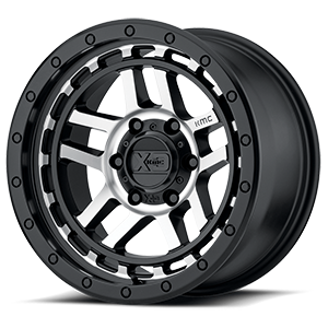 XD Wheels XD140 Recon 6 Satin Black Machined